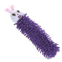 Wholesale Soft Handkerchiefs Kictchen Chenille Fiber Hand Towel Clean Absorbent Cloth Cute Cartoon Frog Rabbit Panda