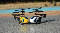 Wholesale Portable Explosion Models Simple Funny Cute Channel Gyro Aircraft Model Remote Control Helicopter Only You Deserve