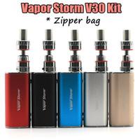 vapor - Authentic Vapor Storm V30 W full Kit V30W Mod EC1 Tank Kit Dry Herb Vaporizer VS Vapor Storm W W W