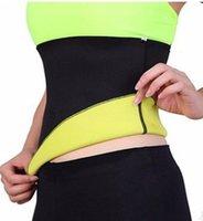 Wholesale Hot Shapers Belt Bodysuit Slimming Waist Shapers Belt Weight Loss Waist Cincher Sauna Yoga Neoprene Body Cinchers Training Corsets B4278