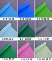 Wholesale PVC adhesive wallpaper wallpaper Thickening post it note advertising lettering renovation special pure color wall stickers furniture package