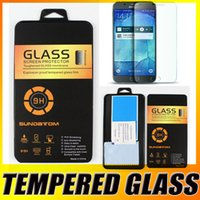 apple crystal glass - 9H Premium Tempered Glass Screen Protector Film For iPhone Plus S Plus Samsung Galaxy Note A9 S7 Edge J710 A710 With Crystal Box