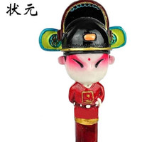 Wholesale China Wind Peking Opera figures three dimensional sculpture effect pen The effect of the entertainment and practical pen