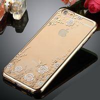 apple bump - TPU Secret garden case For Samsung Galaxy S6 edge plus S7 Iphone s Plus bump Shockproof Dustproof Case