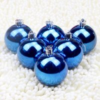 ams blue - AMS Christmas Ball Decorations Exquisite Colorful Balls Ornaments Pendant Pack of Inches many colors