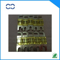 Wholesale 20PCS ROHS Compliant and Brand New AMP Car Audio MINI ANL Fuse Golden Plated AFS Fuse