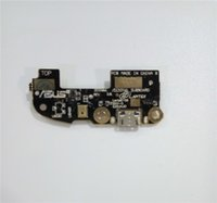 asus connectors - Hot Sell For Asus ZenFone ZE550ML ZE551ML Micro USB Charging Charger Dock Port Flex Cable Connector Plug Board
