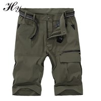 Wholesale Waterproof Breathable Shorts Trekking Shorts Men Cargo Shorts Knee Length Army Training Outdoor Quick Drying Sport Trouser