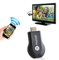 Wholesale AnyCast M2 Plus Mini Wi Fi Display Dongle Receiver P Airmirror DLNA Airplay Miracast Easy Sharing for Android IOS Windows