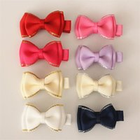 alligator clip sizes - New Arrival Bow Alligator Ribbon Bowknot Sweet Baby Girls Hairpin Mini Size Hair Clips For Kids Cute Children Headwear