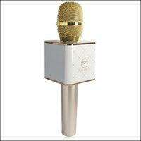 Wholesale TUXUN Q7 Karaoke Microphone Bluetooth Wireless Handheld Loudspeaker Portable Bluetooth KTV Karaoke Player For iPhone Android Smart phone