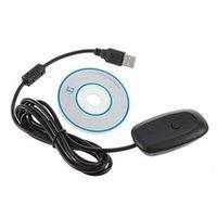 Precio de Controladores de xbox para la venta-Adaptador sin hilos caliente del receptor del USB del regulador del juego de la PC de la venta para XBOX 360