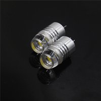 Wholesale High Quality Sufficient Power White G4 DC V W V V Base LED Landscape Light Bulb COB Spotlight Car RV Marine Boat Lamp
