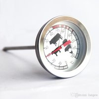 Wholesale New Fast Read Cooking Coffee Kitchen Meat Thermometer with Stainless Steel Probe Temperature Sensor