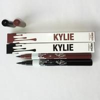 Wholesale 2016 Hot Kylie Jenner Black Brown Liquid Eyeliner Long lasting Waterproof Eye Liner Pencil Pen Nice Makeup Cosmetic Tools Kylie from suning