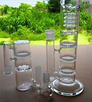 best processing - The best sound and complicated process of three layers of cellular glass filter oil rig hookah glass sound pipe delivery free of charge