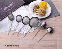 Wholesale Tea Infuser Filter Stainless Steel Tea Pot Sphere Mesh Tea Spice Strainer Tea Ball