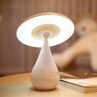 Wholesale XIANGJUN mushroom shape anion air purifying lamp household lamp touch sensor lights Creative LED eye protection desk lamp