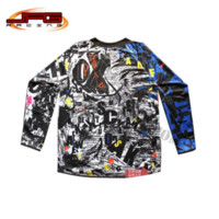 Wholesale off road pit bike Dirt bike cycling bicycle ATV Motorbike Motorcycle Motocross Racing Jersey Shirt T shirt