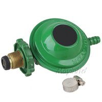 Wholesale Green Sigle Outlet House Bottled Compressed Gas Pressure Regulator Valve
