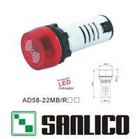 alarm indicator light - indicator light signal lamp flash buzzer Acoustooptical buzzerphone flash alarm mm AD58 MB R
