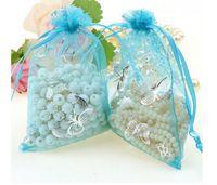 accord wedding - bronzing yarn bag CM beam port yarn bags customized according bow mesh bags Gifts candy jewelery bags