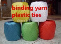 Wholesale Ball enkindling rope plastic rope packing rope tied plastic rope rip cord
