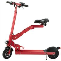 Wholesale Electric Scooter Models or Portable Folding E C3 Car Model Cool Red or Black Standard Tupe One Seat Electric Bicycle China Fashion Cycling