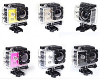 Wholesale Waterproof LCD Screen SJ4000 Style P Full HD Camcorders SJcam Helmet Sport DV M Action Camera