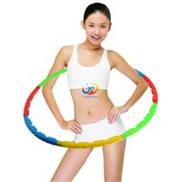 Wholesale New Health magnetic massage Hula hoops sports hoop for Exercise or Weight Loss and slim waist Exercise fitness equipment