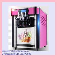 Wholesale Ice cream maker Commercial Soft Ice cream machine L H Sundae Ice cream machine Yogurt machine