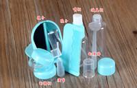 Wholesale Convenient travel bag SET empty bottle suit empty plastic bottle clamshell travel bottle series Easy to take cosmetics