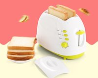 Wholesale New Arrival Household Slices Toaster Bread Toast Machine For Breakfast With Cool touch Exterio Automatic Stainless steel liner