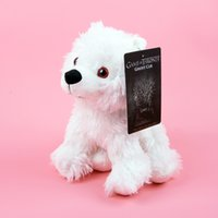 Wholesale deadpool plush factory entertainment game of thrones direwolf cub ghost plush kids toys christmas gift plush