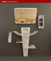 bathroom marble sink - Creative bathroom ark Marble sink cabinet