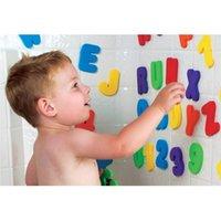 bathtub stickers - Baby Bathtub Bathing Bathroom Toy English Alphabet Piece Sticker Water Shower Early Education Toy For Girl Boy Kid Child