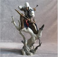 best furnishes - 26CM Assassins Creed Anime PVC Action Figure Cartoon Furnishing Articles Figures Model Kids Toys Chilren Best Birthday Christmas Gifts