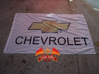 auto digital marketing - polyester cm Chevrolet car brand flag car show Auto marketing banner cycle racing flag Digital Printing