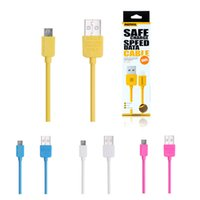 Wholesale Remax High speed King Kong Micro USB cable Fast Charging Data Sync With Retail package for Samsung S6 S7