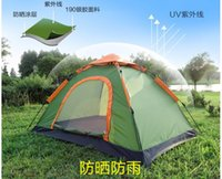 Wholesale Take DHL Fully automatic tent person tent waterproof party family hiking fishing beach outdoor camping tent in many color