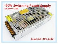Wholesale Input AC110V V Output DC24V A Switching Power Supply W V LED Transformer Single Output for Industry
