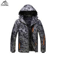 Wholesale Outdoor Waterproof snowboard Ski Jacket men Thicken Warm Skiing Jackets Winter Men s snowboarding coats Snow Clothes