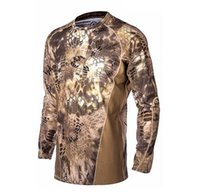 airsoft military gear - Military Camouflage Hunting Clothes Airsoft T shirt Outdoor Sports Camping Hiking Survival Shirt Tactical Suit Paintball Gear