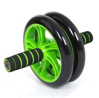 Wholesale Green Abdominal Wheel Ab Roller With Mat For Exercise Fitness ab wheel roller
