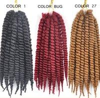 Wholesale 2X HAVANA MAMBO TWIST SYNTHETIC KANEKALON FIBER BRAIDS HAIR FAUX LOCS INCH EACK HIGH QUALITY