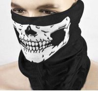 america bandana - 2016 New Europe and America Style Skull Design Multi Function Bandana Motorcycle Biker Face Mask Neck Tube Scarf