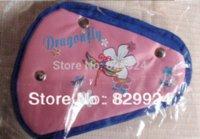 Wholesale 2 children car safety belt adjuster baby auto seatbelt positioner colors belt bag