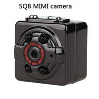 Wholesale SQ8 Mini DV Voice Infrared Night Vision Digital Camera P Full HD Car Sports IR Night Vision DVR Video Recorder