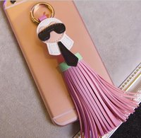 alloy gallery - fashion jewelry galleries lafayette Little monster key chain tassel bag hanging
