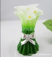 Wholesale Lily Shape Candle Gift House Decoration Candle